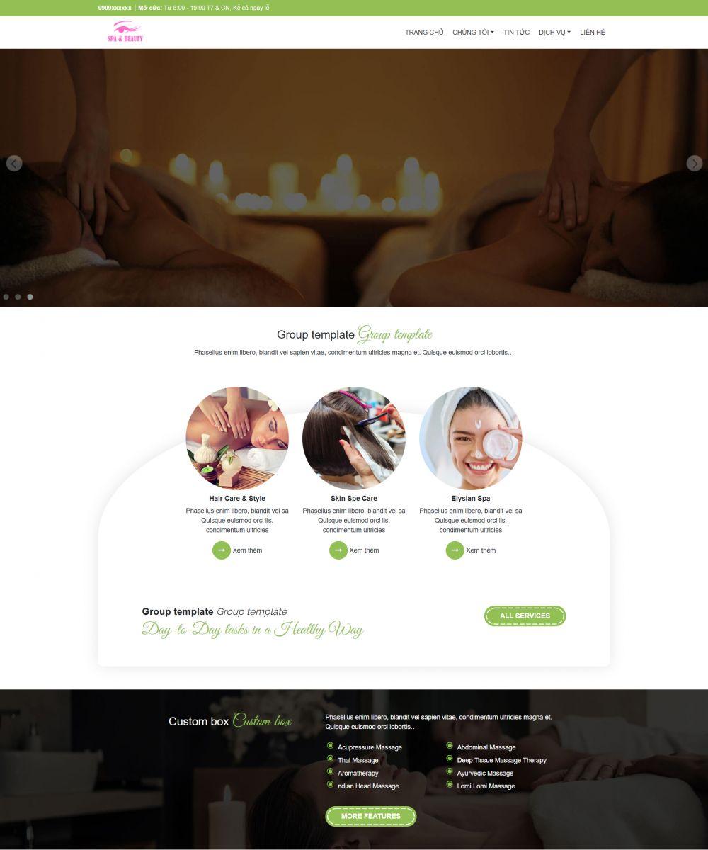 FastSpa - Creative Spa & Beauty theme